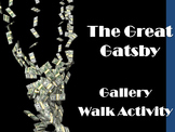 Great Gatsby Gallery Walk: Writing and Image Analysis Activity