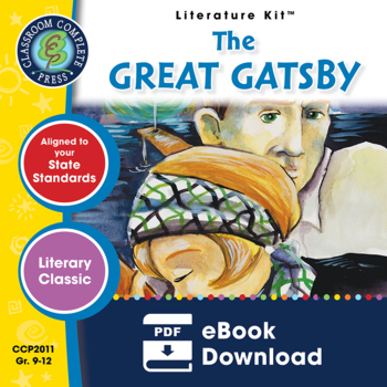 The Great Gatsby - Literature Kit Gr. 9-12