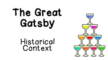 The Great Gatsby - Historical Context Presentation