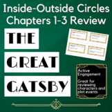 The Great Gatsby Inside Outside Circles Active Engagement