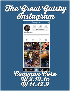 The Great Gatsby Instagram
