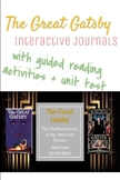 The Great Gatsby- Interactive Journals