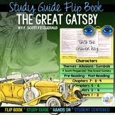 The Great Gatsby: Interactive Layered Flip Book Reading Literature Guide