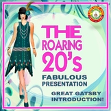 ICONS OF THE ROARING 20'S A GREAT INTRODUCTION TO GATSBY