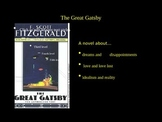 The Great Gatsby Introduction Power Point