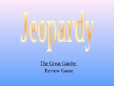 The Great Gatsby Jeopardy Review Game