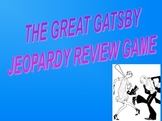 The Great Gatsby Jeopardy-like Review game and Final Assessment*