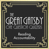 The Great Gatsby – Keep Kids Reading with Quizzers, Chapte