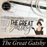 The Great Gatsby Literary Elements: Focus Lesson