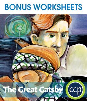 The Great Gatsby - Literature Kit Gr. 9-12 - BONUS WORKSHEETS