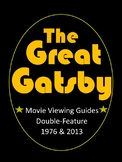 The Great Gatsby Movie Guide *Double-Feature* (Editable)