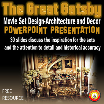 The Great Gatsby Movie Set Design-Architecture and Decor