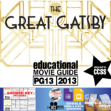 The Great Gatsby Movie Viewing Guide (PG13 - 2013)