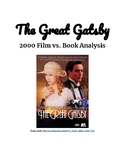 The Great Gatsby Movie vs. Book Worksheet (A & E film)