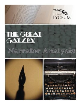 The Great Gatsby Narrator Analysis Lesson