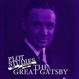 The Great Gatsby - Plot Studies (Graphic Organizers) Packet