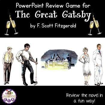 The Great Gatsby PowerPoint Review Game