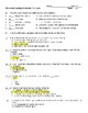 The Great Gatsby Quiz with Answer Key- Chapters 4-6