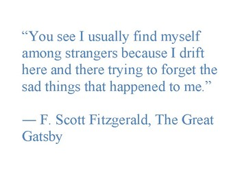 The Great Gatsby Quotes Posters