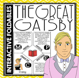 The Great Gatsby - Reading and Writing Interactive Foldables