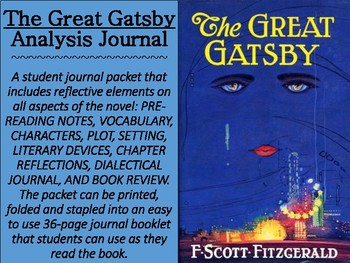 """""""The Great Gatsby"""" Reflective Journal"""