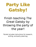 The Great Gatsby Research Party