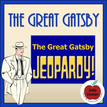 The Great Gatsby Review Jeopardy