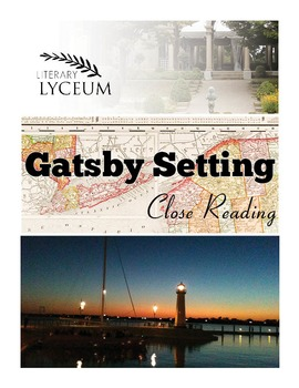 The Great Gatsby Setting Close Reading Analysis