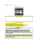 The Great Gatsby Reading Packet (entire novel)