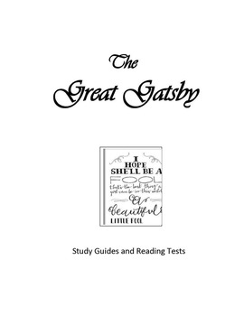 The Great Gatsby Study Guides and Reading Tests