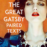 The Great Gatsby Paired Texts: Poetry, Non-Fiction, & Film | Critical Thinking