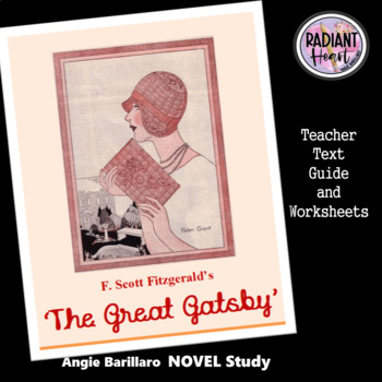 The Great Gatsby Teacher Text Guide & Worksheets