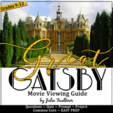 The Great Gatsby Movie Guide, Unit for The Great Gatsby Movie