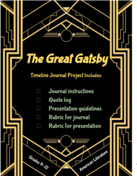 The Great Gatsby Project and Presentation