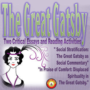 The Great Gatsby- Two Critical Essays and Reading Activities