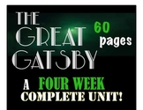 The Great Gatsby COMPLETE Unit!