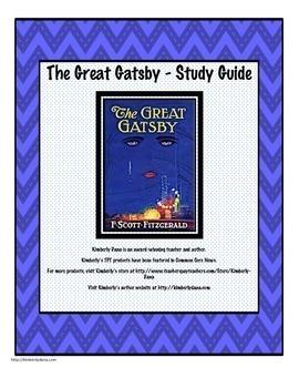 The Great Gatsby Unit Bundle