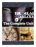 The Great Gatsby Unit Bundle