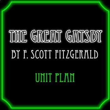 The Great Gatsby Unit Plan