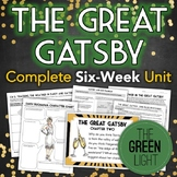 The Great Gatsby Unit Plan: Quizzes, Worksheets, Activitie