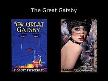 The Great Gatsby Unit PowerPoint