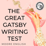 The Great Gatsby Written Test