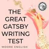 The Great Gatsby Written Test