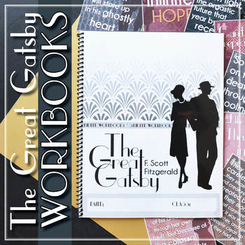 The Great Gatsby by Fitzgerald: Student Workbooks