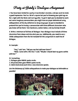 The Great Gatsby with ELA Common Core 15-Day Unit: Everything You Need Included!