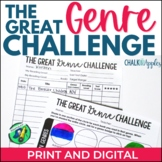 The Great Genre Challenge Kit - Reading Log Alternative