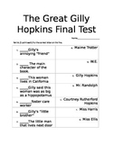 The Great Gilly Hopkins Final Test