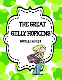 The Great Gilly Hopkins ( Novel Study - Comprehension and Vocabulary)
