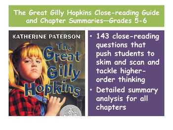 The Great Gilly Hopkins Prereading Power Point—Foster Care