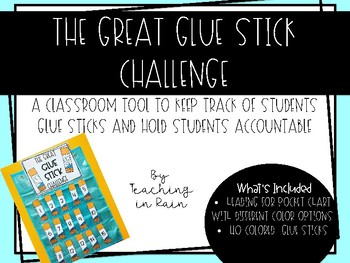 The Great Glue Stick Challenge